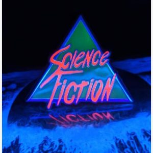 Science Fiction Enamel Pin