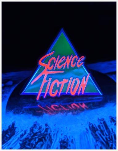 Science Fiction Enamel Pin